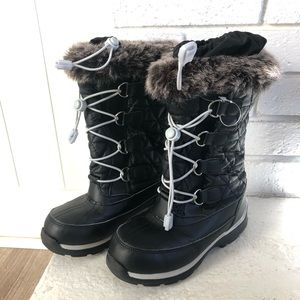 Lands end girls snow boots
